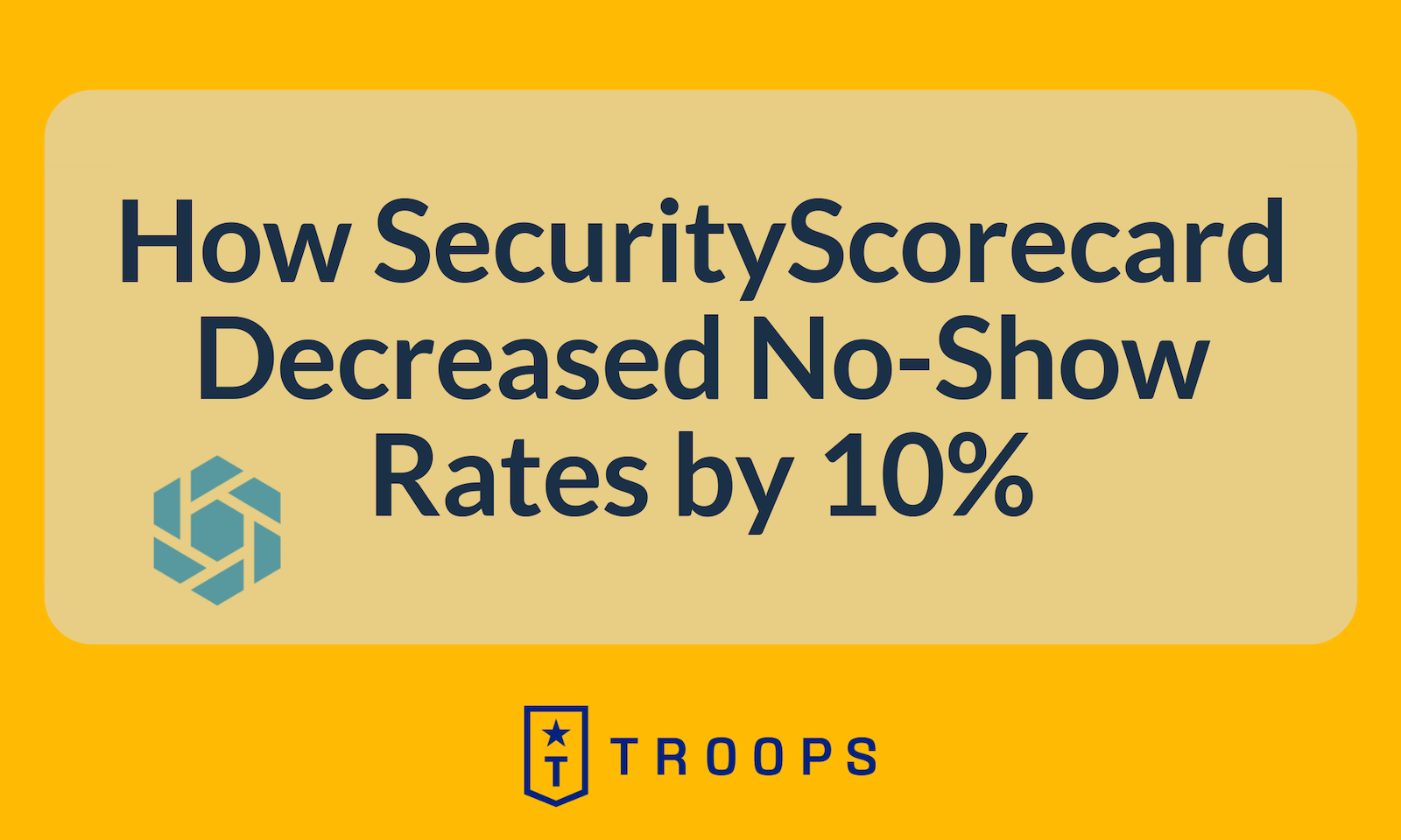 How SecurityScorecard Decreased No-Show Rates by 10%