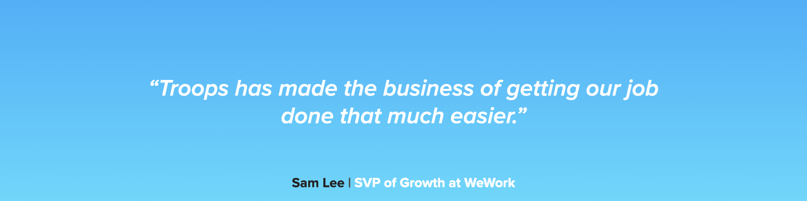 WeWork Quote #5.001