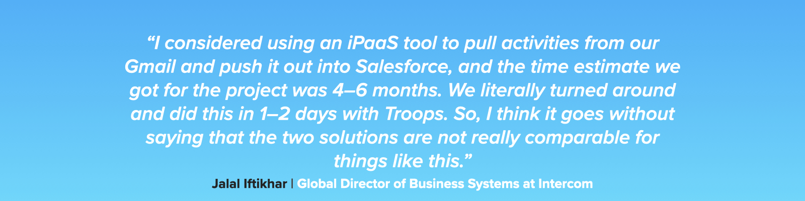 ipaas v. troops quote 6.001