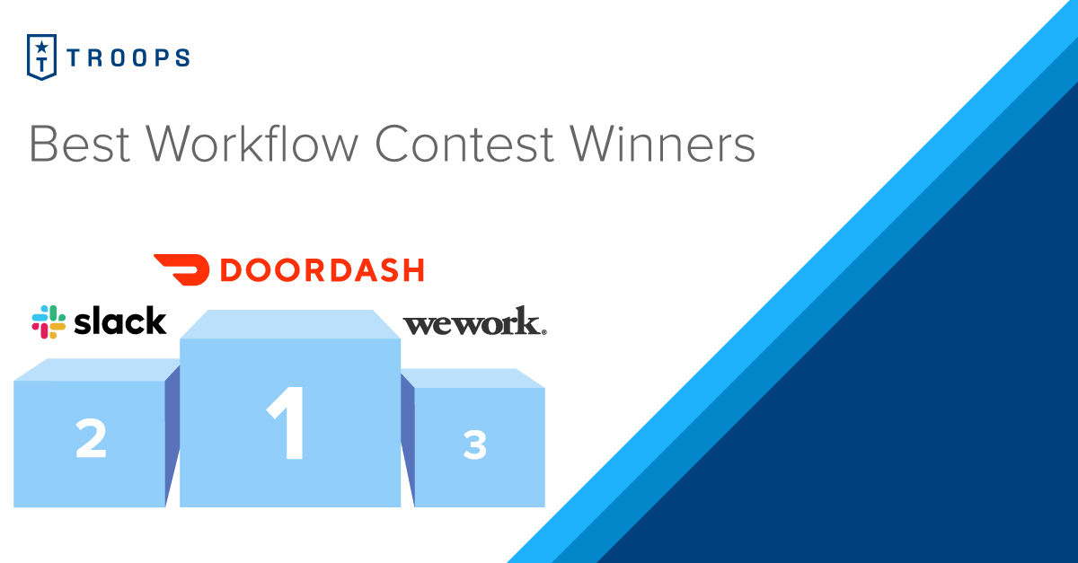 Best Workflows Contest Winners Announced!