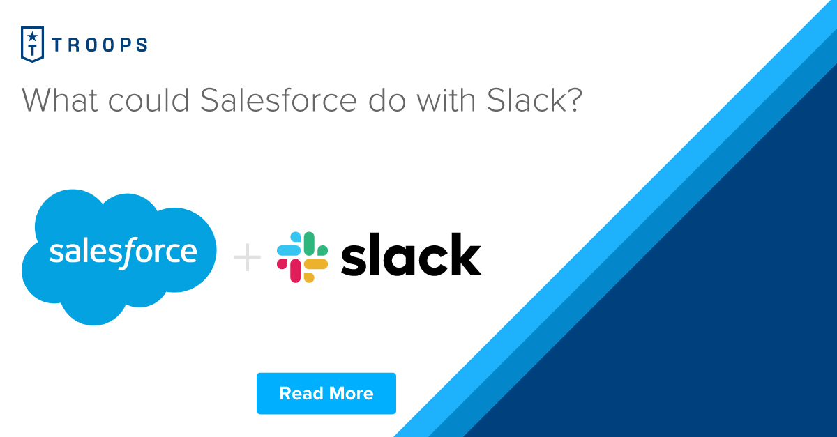 What could Salesforce do with Slack?