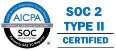 SOC2 Certified