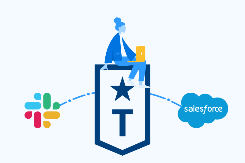 How Troops is different from the native Slack- Salesforce integration