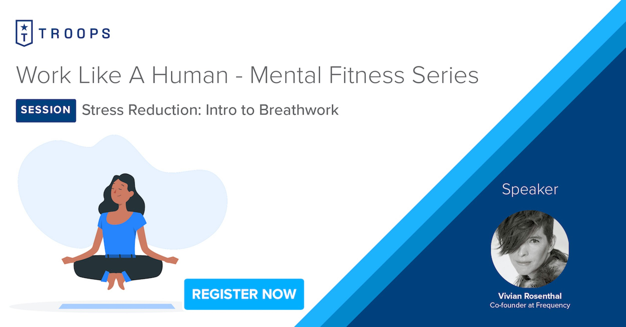 Mental fitness: New webinar series to help you reduce stress, stay focused & productive